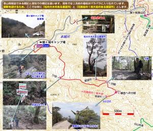 刀剣山マップ