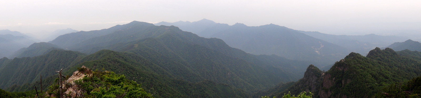 傾山からのView