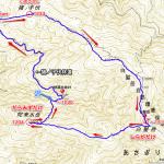 白髪岳MAP文字入