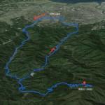 紫尾山マラニック俯瞰図